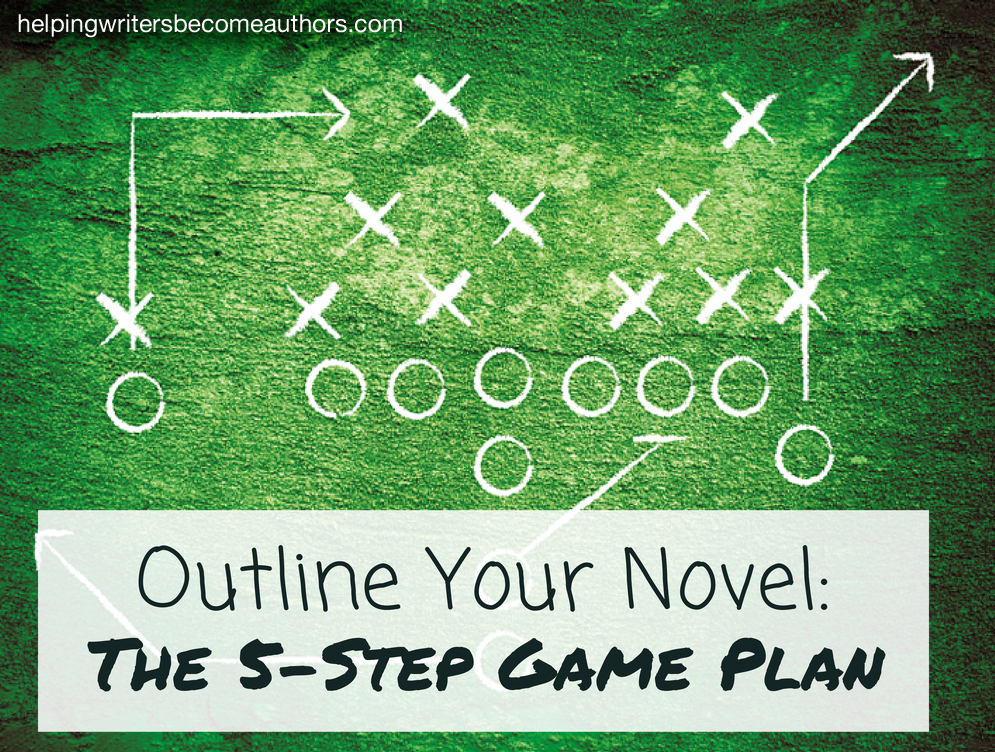 Outlining Your Novel The 5-Step Gameplan