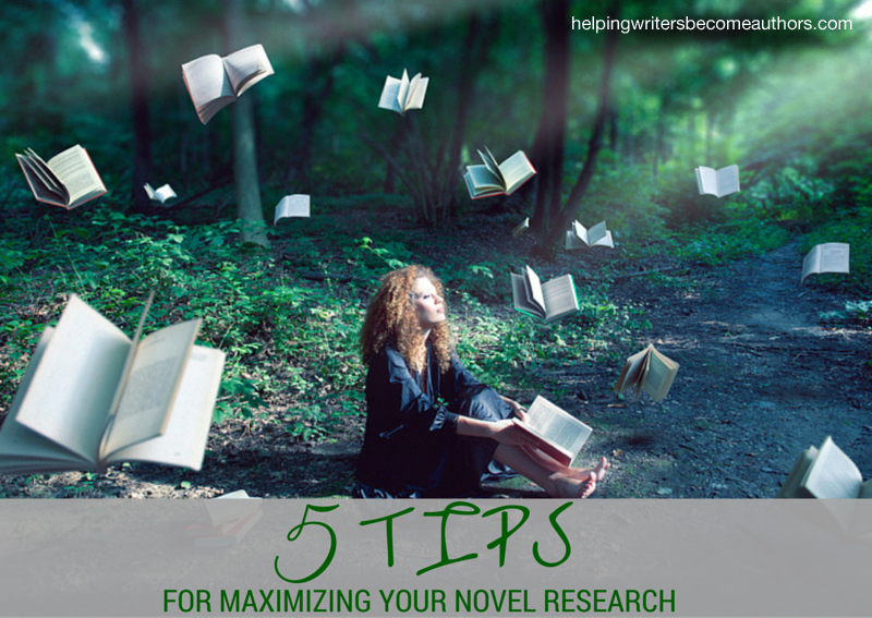 5 Tips for Maximizing Your Novel Research