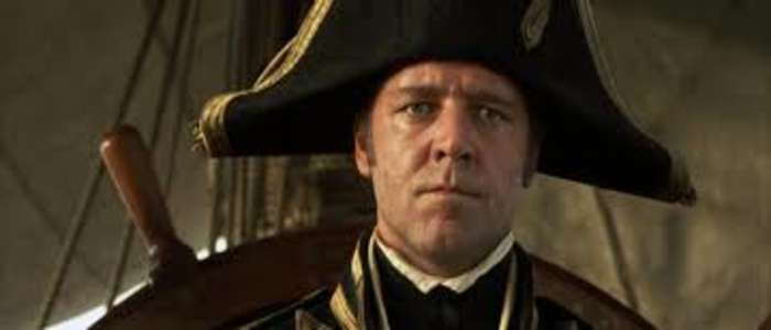 Captain Jack Aubrey Master and Commander Far Side of the World Patrick O'Brian Russell Crowe