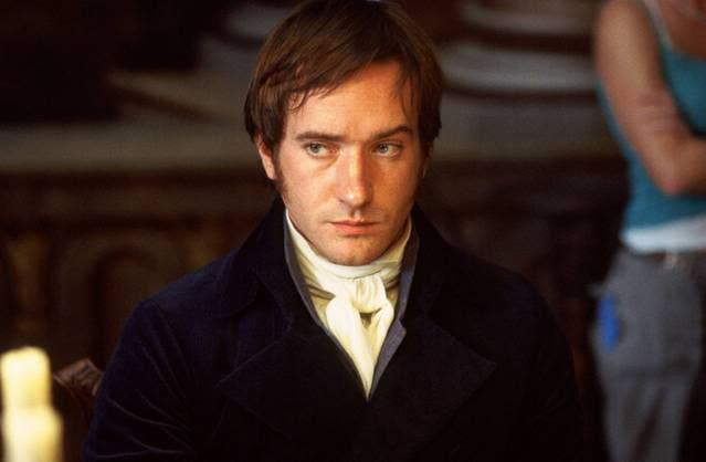 Mr Darcy Matthew Macfayden Pride and Prejudice Jane Austen