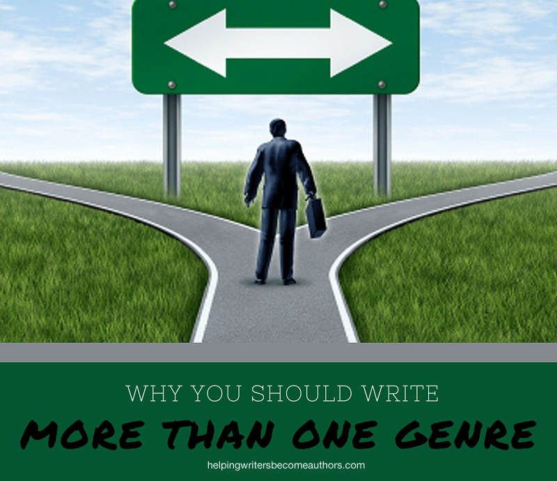 Why You Should Write More Than One Genre