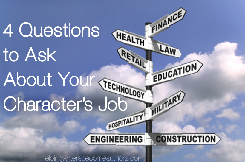 4 Questions to Ask About Your Character's Job