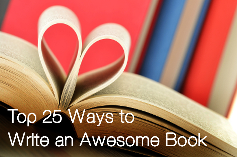 how to write an awesome book