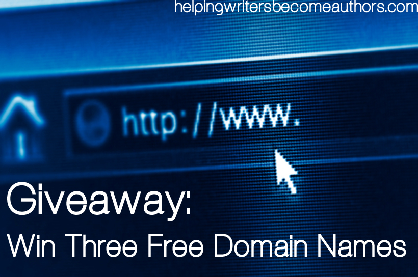 win three free domain names