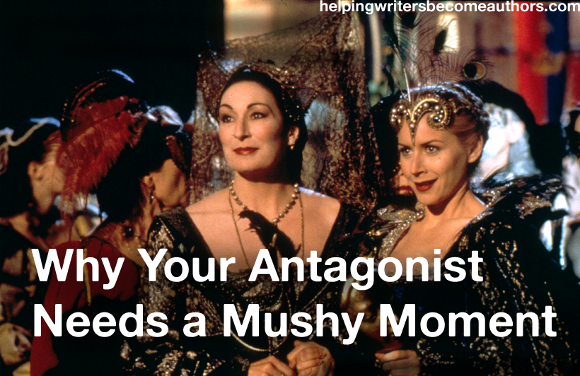 why you should give your antagonist a mushy moment