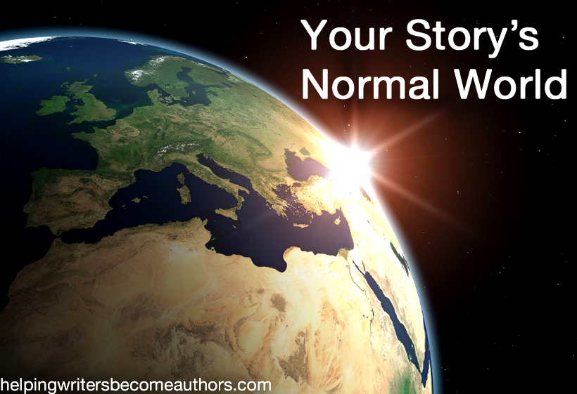 your story's normal world copy