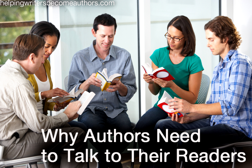 Why Authors Need to Talk to Their Readers
