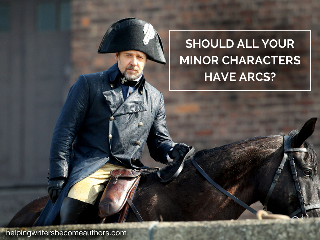 Should All Your Minor Characters Have Arcs?