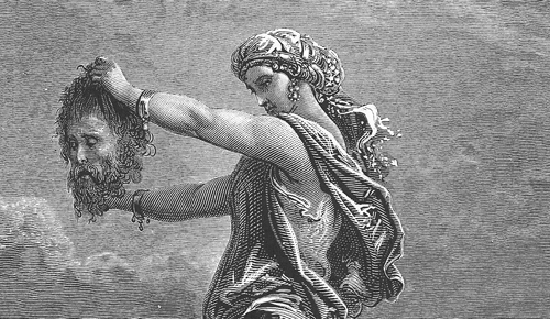 Your #Characters ' Names: Do You Know Why You Chose Them? #WritingTips Judith-gustave-dore-showing-the-head-of-holofernes