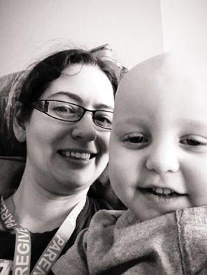 Liberty and Xander Speidel After Bone Marrow Transplant