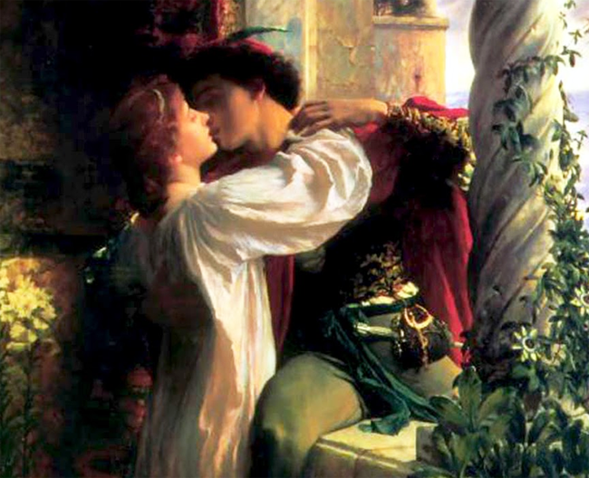 Romeo and Juliet Frank Dicksee