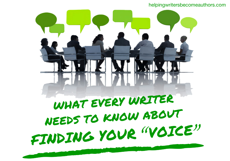 "What Every Writer Needs to Know About Finding Your ""Voice"""