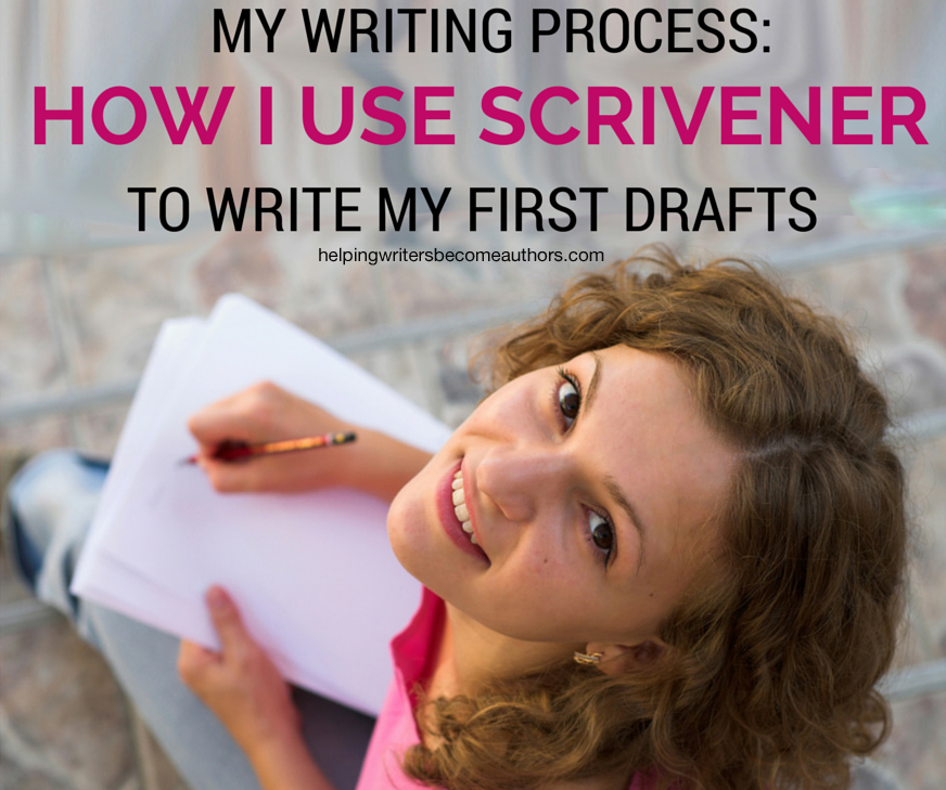 My Writing Process, Pt. 2 of 2: How I Use Scrivener to Write My First Drafts