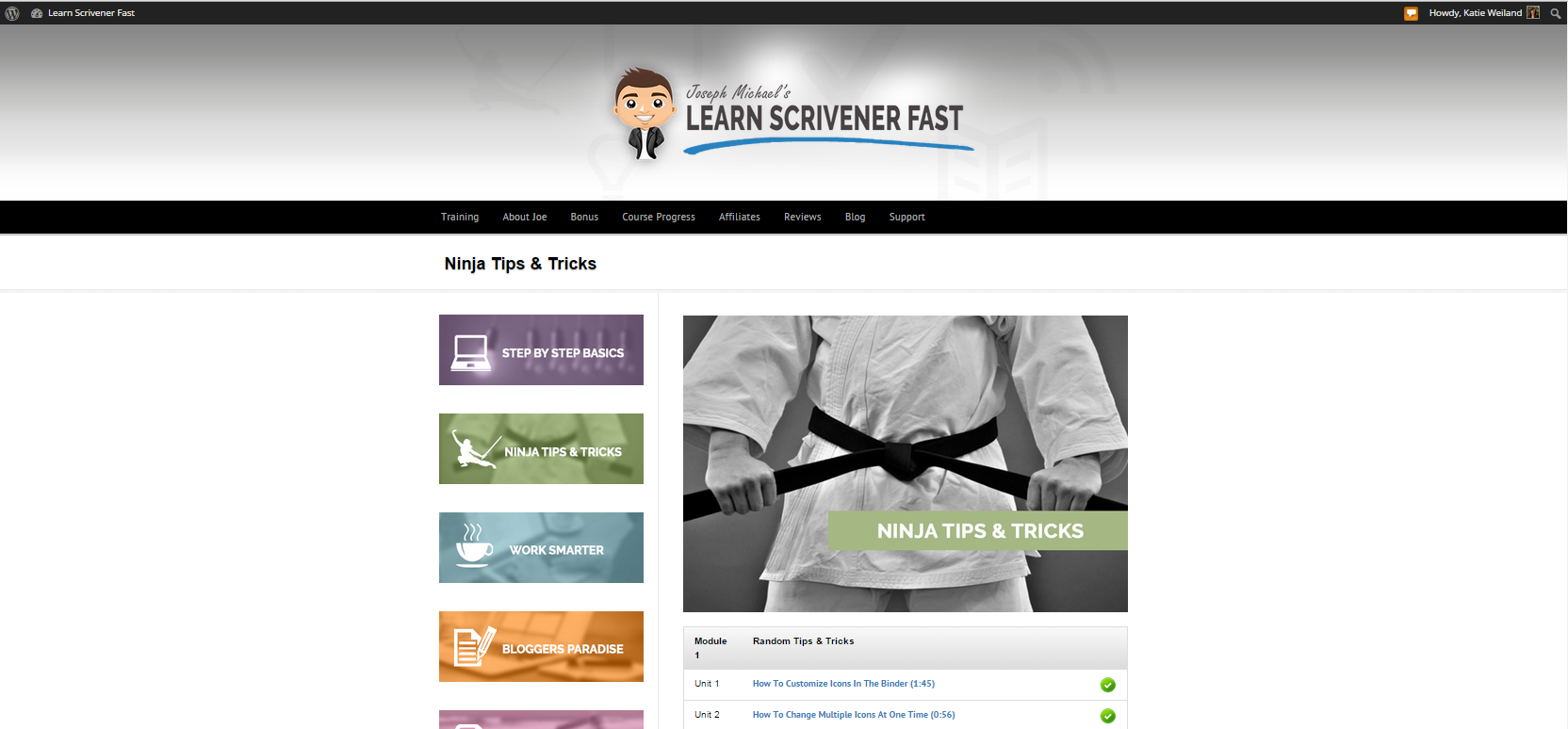 Learn_Scrivener_Fast_Joseph_Michael_Ninja_Tips_and_Tricks