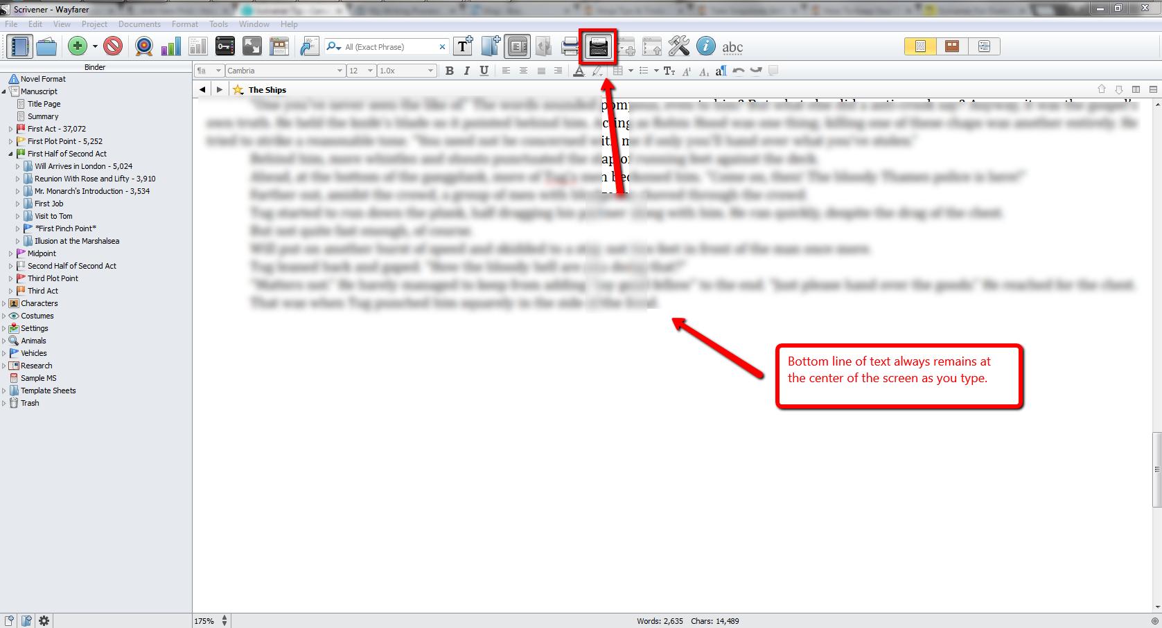 Scrivener_Tip_Typewriter_Mode