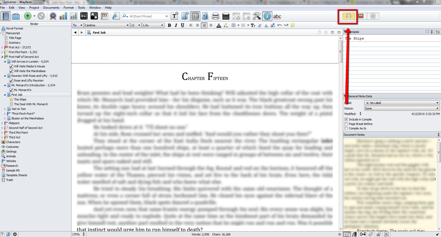 Scrivener_Tip_Writing_Process_Scrivenings_View