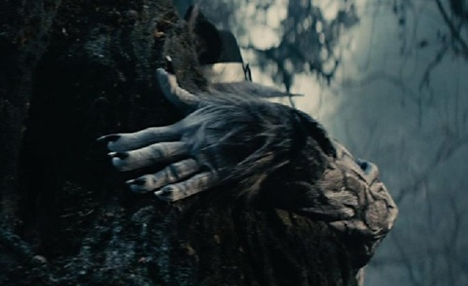 Johnny Depp Big Bad Wolf Into the Woods