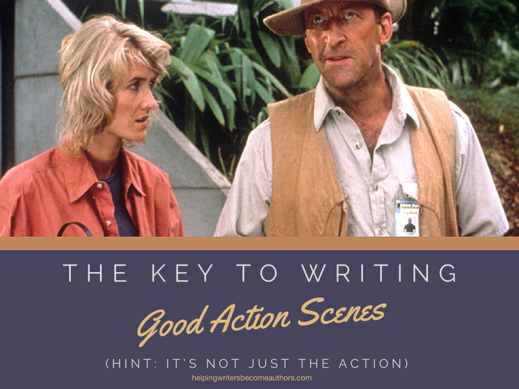 The Key to Writing Good Action Scenes (Hint: It's Not Just the Action)