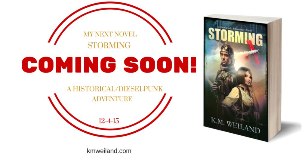 My Next Novel Storming a Dieselpunk/Historical Adventure Coming Soon
