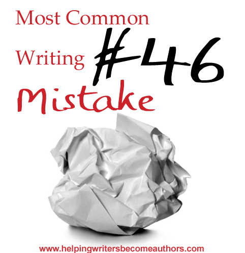 Most Common Writing Mistakes, Pt. 46: Anticlimactic Endings
