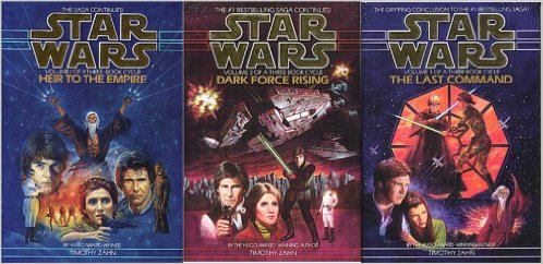 Star Wars Thrawn Trilogy Timothy Zahn Heir to the Empire Dark Force Rising Last Command