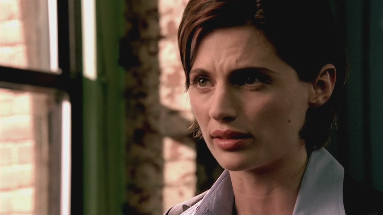Kate Beckett is an example of writing a strong character who lost her interesting weaknesses.