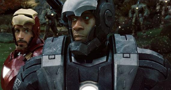 Iron Man 2 Robert Downey Jr War Machine James Rhodes Rhodey Don Cheadle