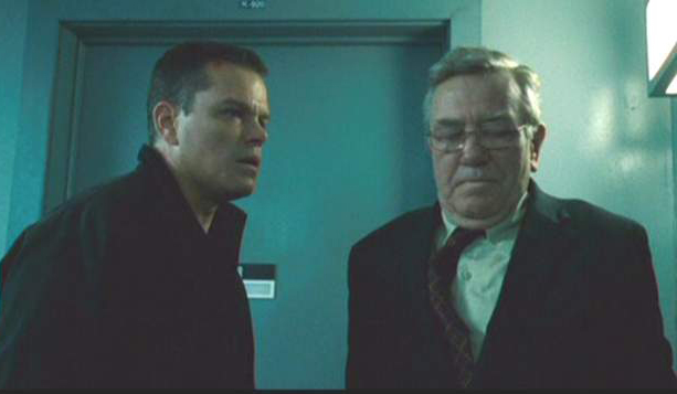 Bourne Ultimatum Matt Damon Albert Finney