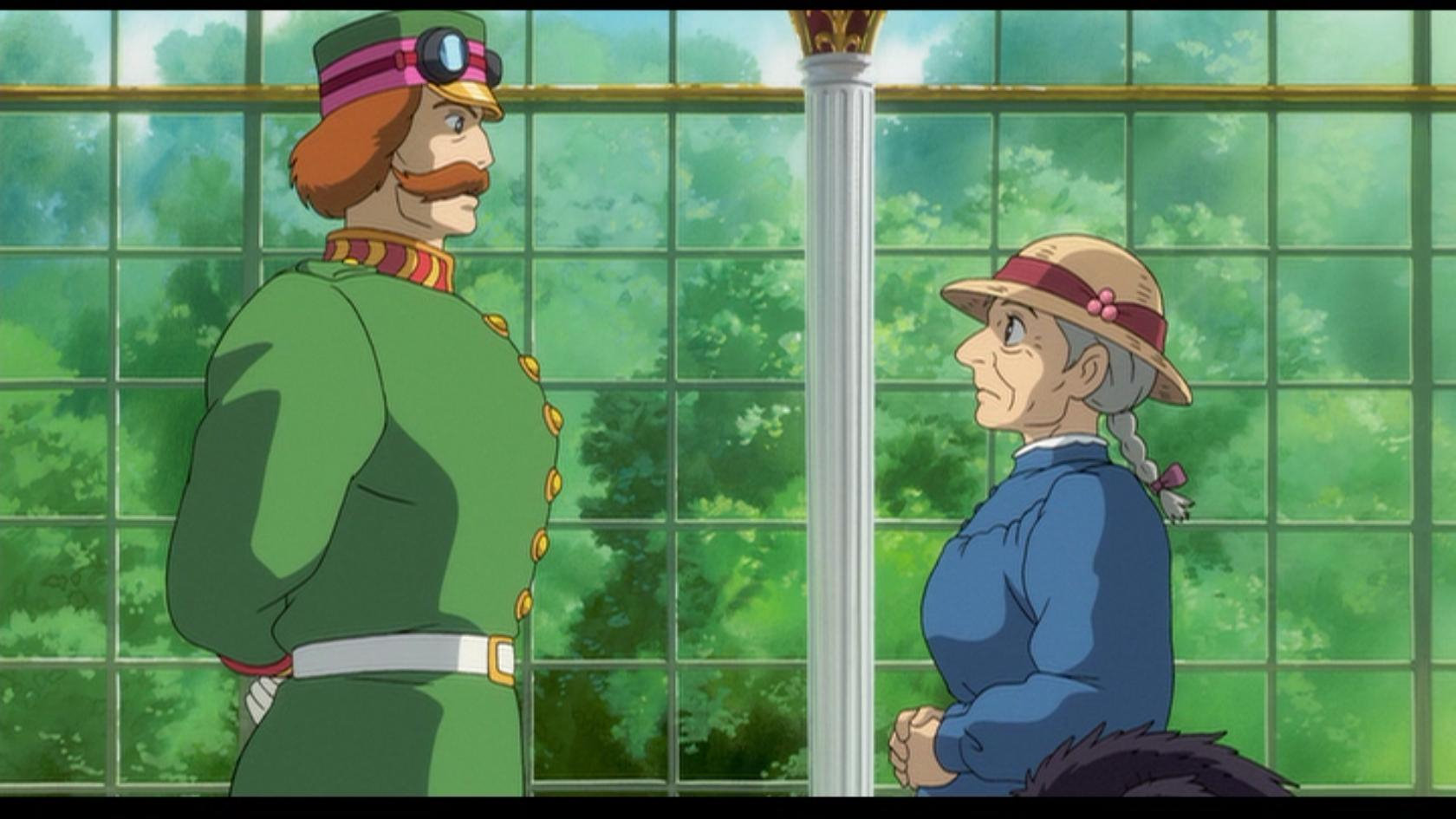 Howl's Moving Castle Sophie and King