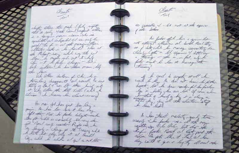 WriteMind Writing Journal Lined Pages