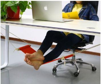 Gift for Writers 12: Under Desk Footrest