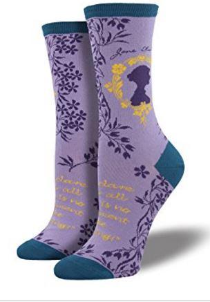 Gift for Writers 6: Jane Austen Socks
