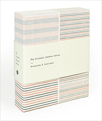 Gift for Writers 8: Olivetti Typewriter Notecards