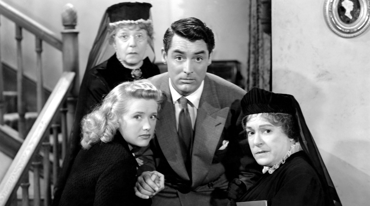 Arsenic and Old Lace Cary Grant Priscilla Lane