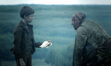 Character Misdirection Example: Magwitch, inGreat Expectations, plays the reverse role to Miss Havisham's. His role as a brutal escaped convict convinces the protagonist Pip he is evil, when, in fact, Magwitch turns out to have been his benefactor all along.