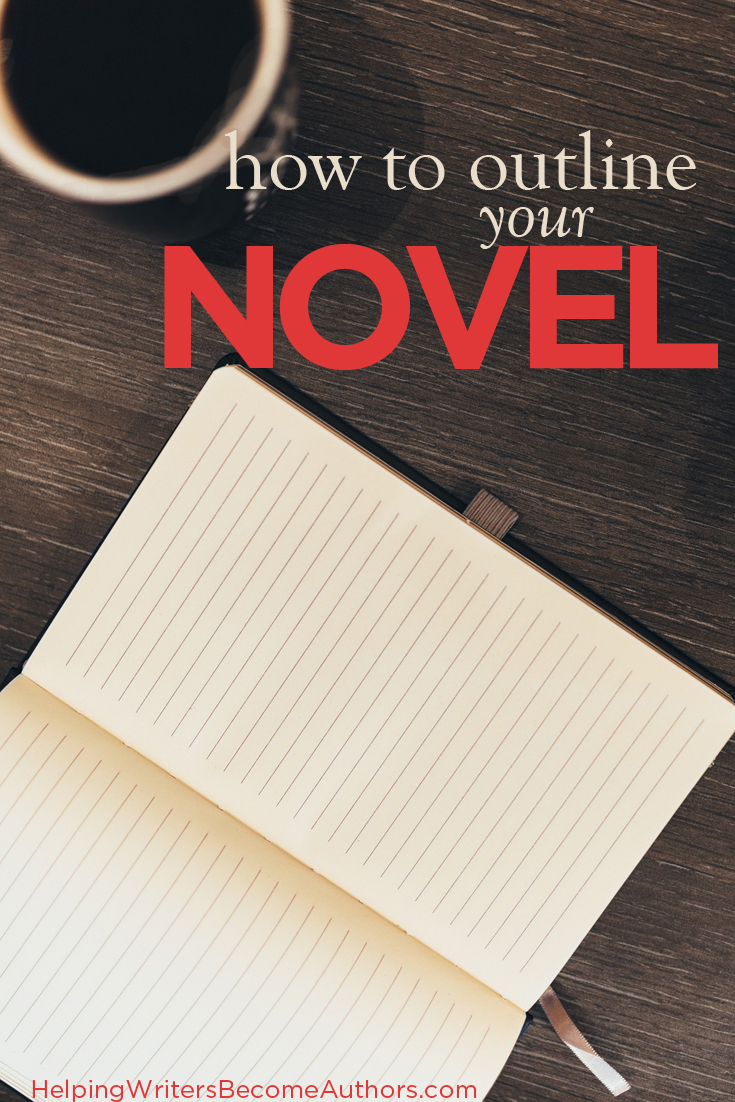 How to Outline Your Novel Series Pinterest