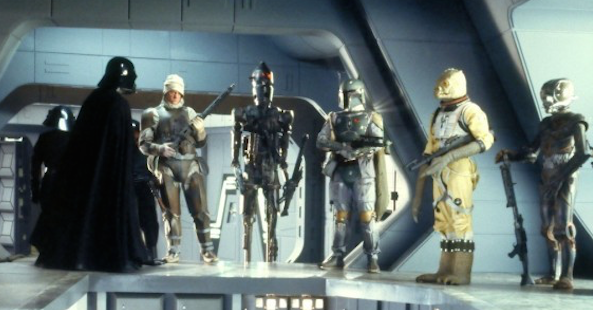 Bounty Hunters Star Wars Empire Strikes Back