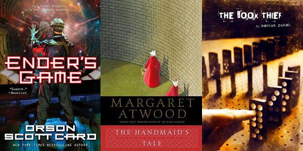 Ender's Game Handmaid's Tale Book Thief