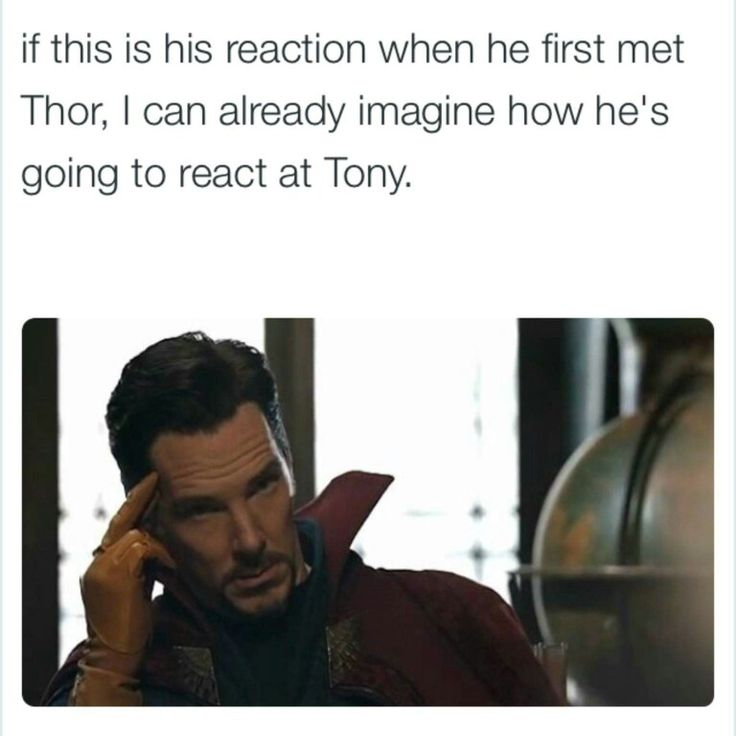 Dr Strange Thor Tea