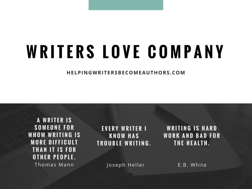 Writers Love Misery