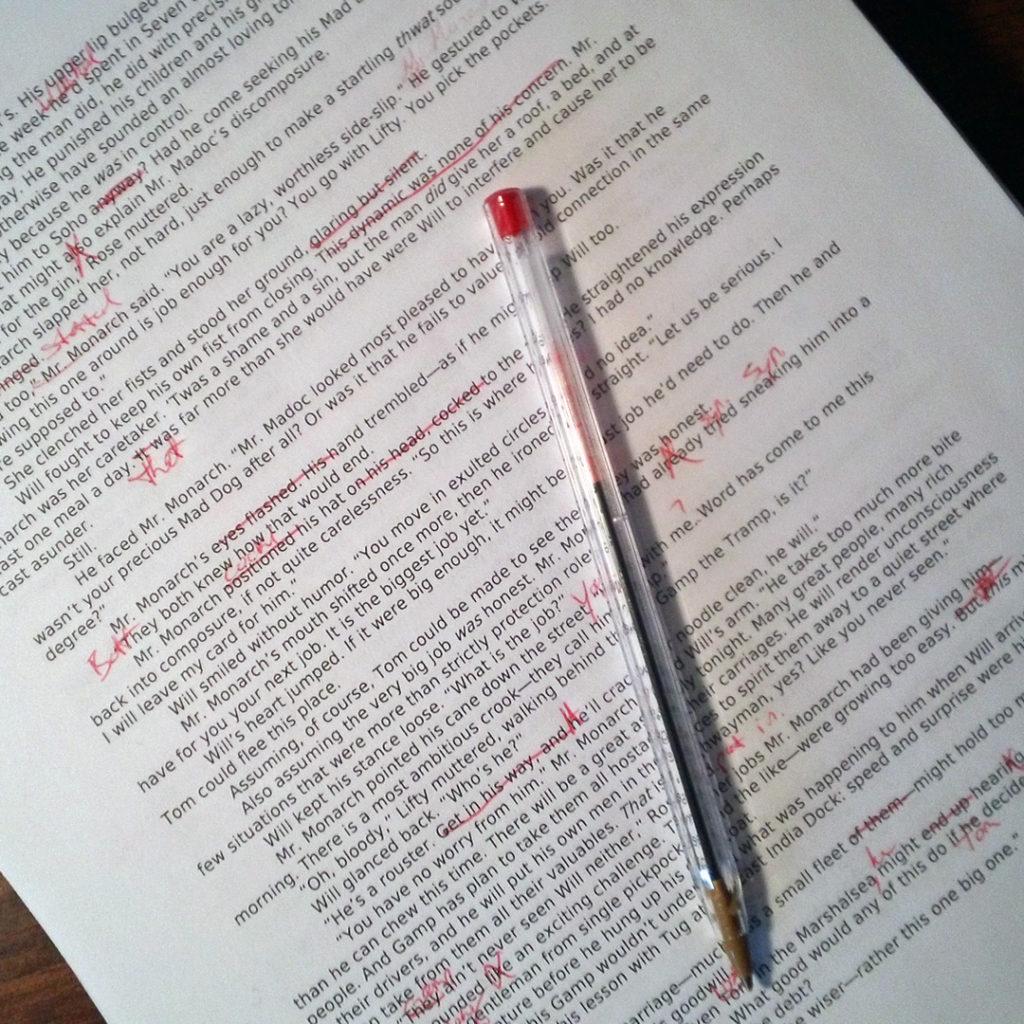 3-17-16 Editing Wayfarer's First Draft