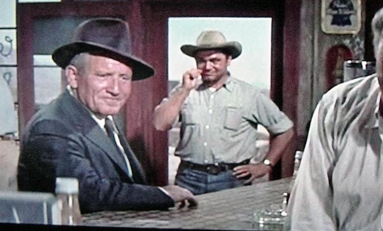 Bad-Day-at-Black-Rock Spencer Tracy Ernest Borgnine