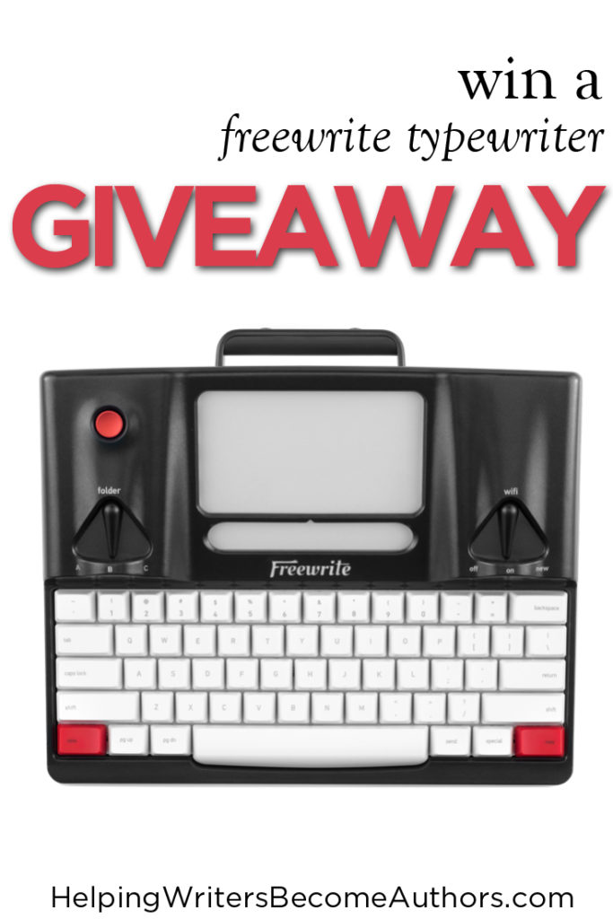 Win Goodies for Writers! Giveaway