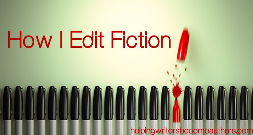 how i edit fiction