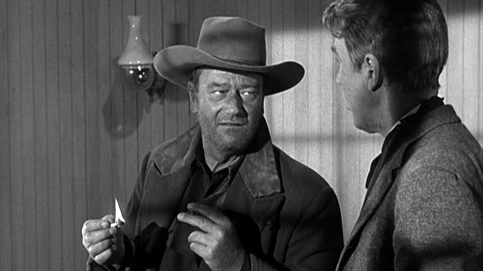 Tom Doniphon John Wayne James Stewart John Ford Man Who Shot Liberty Valance
