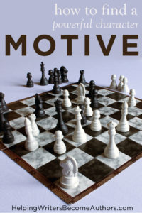 Why Your Character's Motive Matters