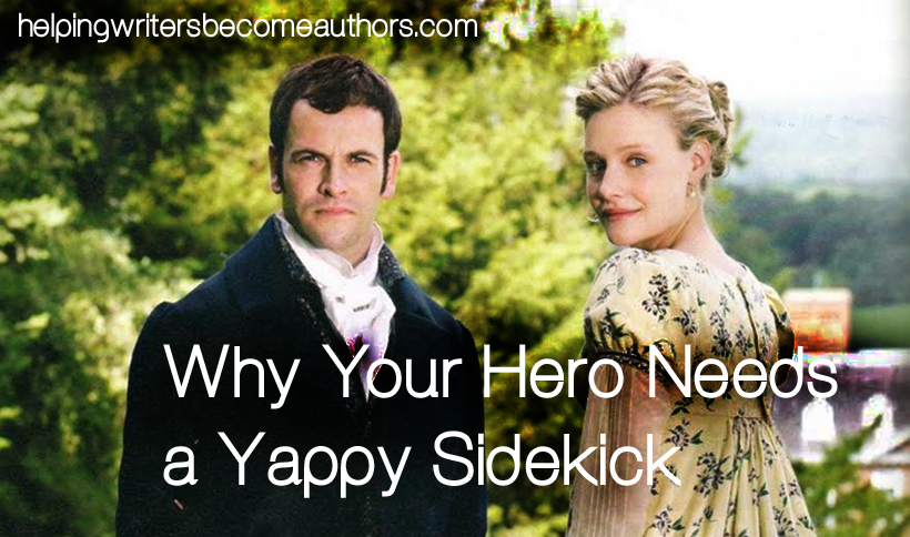 why your hero needs a yappy sidekick