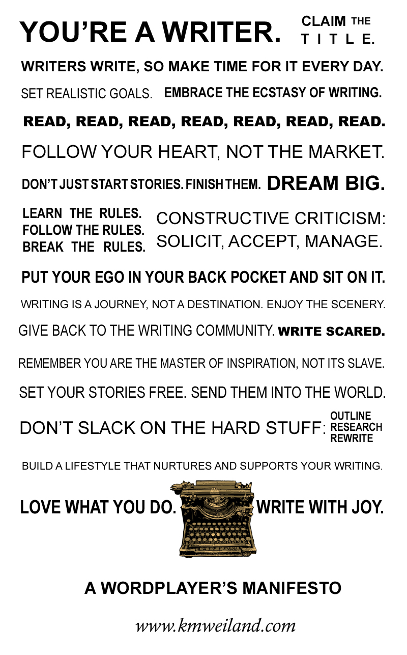 A Writer's Manifesto