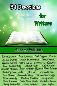 31 Devotions for Writers edited by Susette Williams