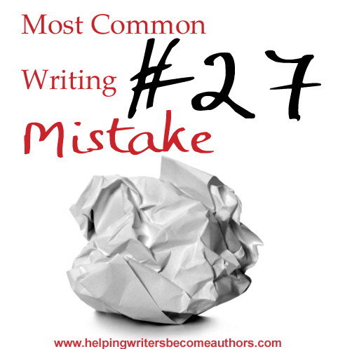 Most Common Writing Mistakes: Weak Character Voice
